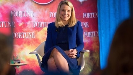 marissa mayer sitting down
