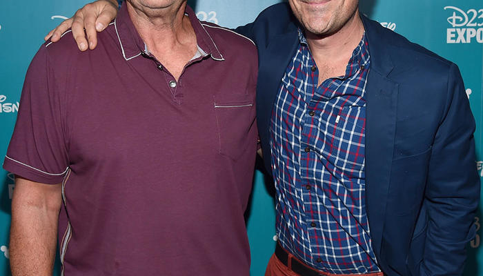 Ed O'Neill and Ty Burrell